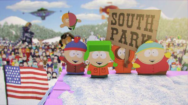 Заставка мультсериала Южный парк
