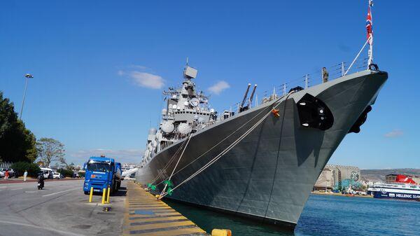 Ракетный крейсер  Маршал Устинов