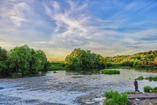 Река Осетр в Зарайске