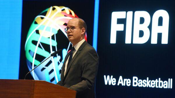 Генеральный секретарь Международной федерации баскетбола (FIBA) Андреас Загклис
