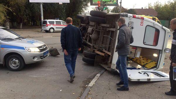 ДТП со скорой помощью в Саратове. 11 октября 2019