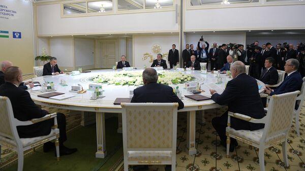 Заседание Совета глав государств Содружества Независимых Государств