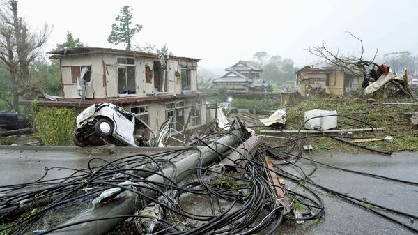 Тайфун Хагибис в Японии. 12 октября 2019