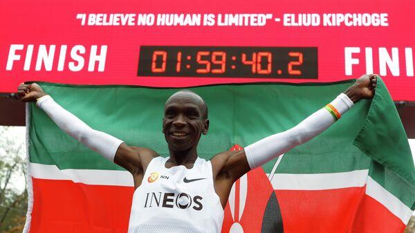 Кенийский марафонец Элиуд Кипчоге