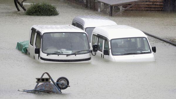 Тайфун Хагибис в Японии.