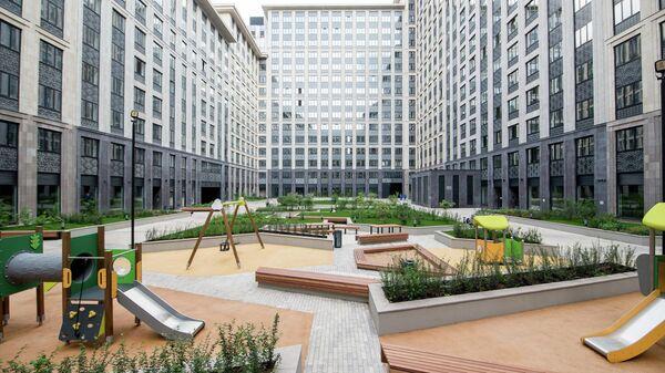 Квартал бизнес-класса Искра-Парк на Ленинградском проспекте в Москве