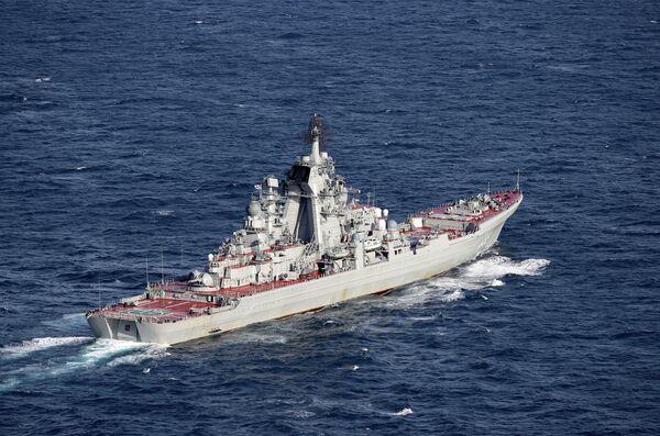 Российский тяжелый атомный ракетный крейсер Петр Великий