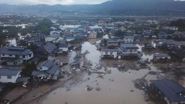 Разгулявшаяся стихия: последствия тайфуна Хагибис в Японии