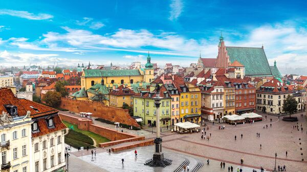 В Варшаве у представительства ЕК проходит акция протеста