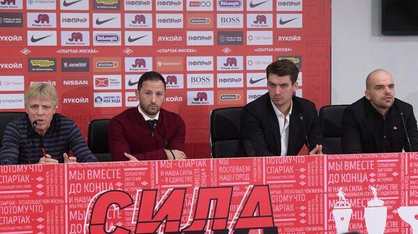 Доменико Тедеско, Томас Цорн и Антон Лисин (слева направо)