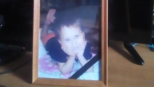 Фото мальчика, погибшего  в селе Буйское Уржумского района