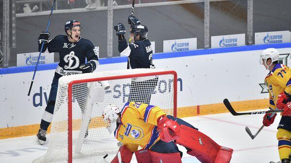 Динамо (Санкт-Петербург) - Химик в матче регулярного чемпионата Высшей хоккейной лиги