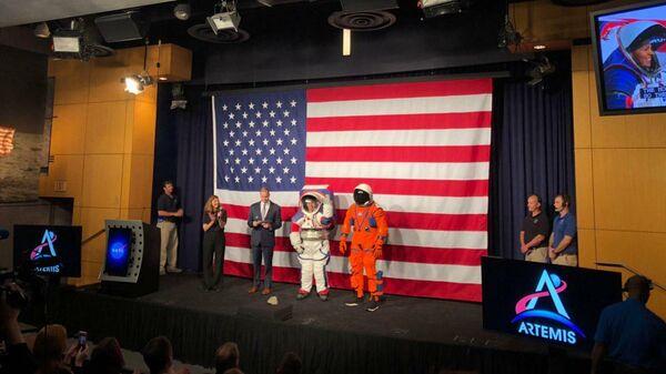 НАСА представило скафандры для лунной миссии
