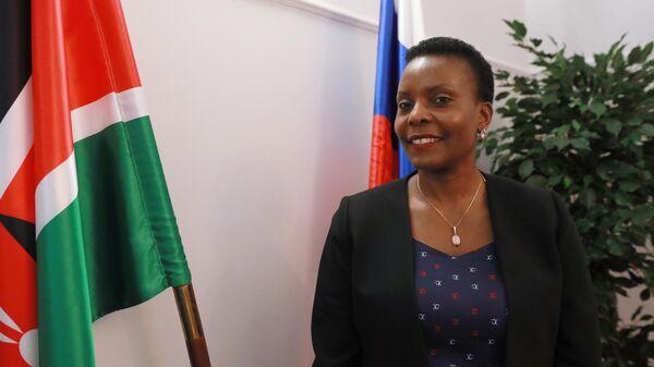 Временный поверенный в делах Республики Кения в РФ г-жа Винни Мванджала