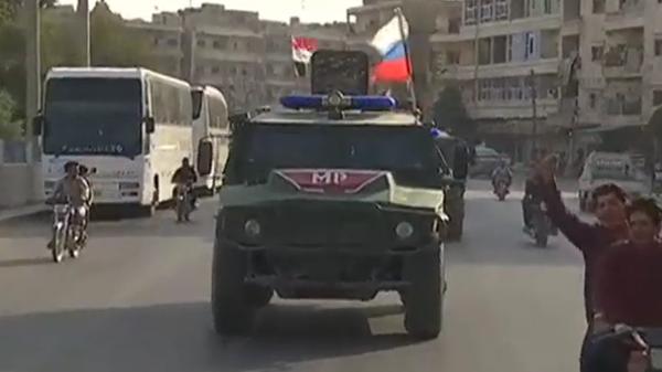 Российская военная полиция в Манбидже