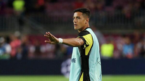 Игрок ФК Интер Алексис Санчес