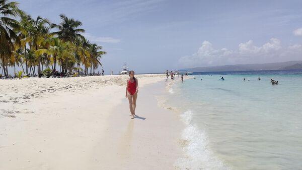 Доминикана. Остров Кайо-Левантадо