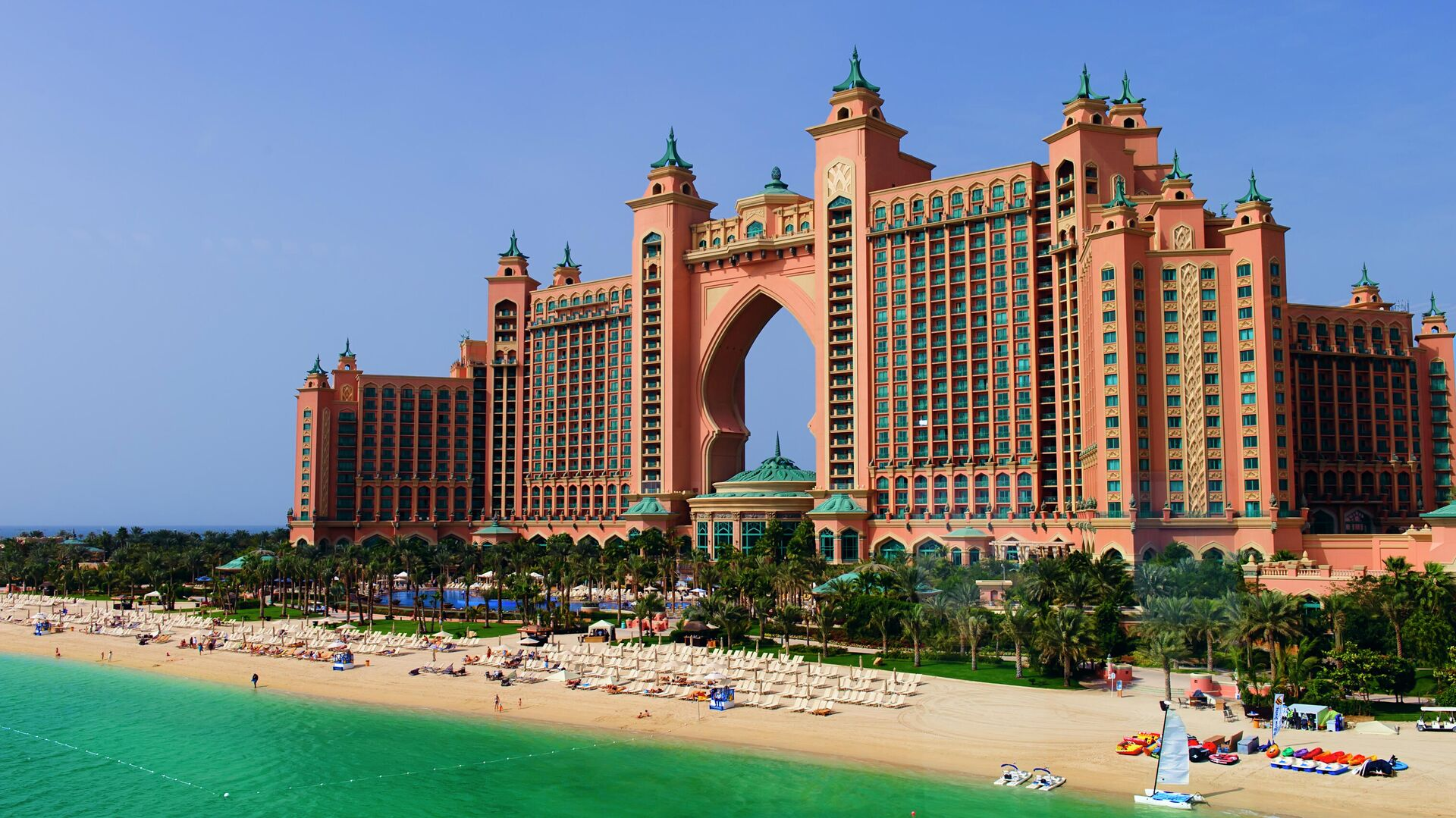 Курортный комплекс Atlantis The Palm в Дубае - РИА Новости, 1920, 21.01.2021