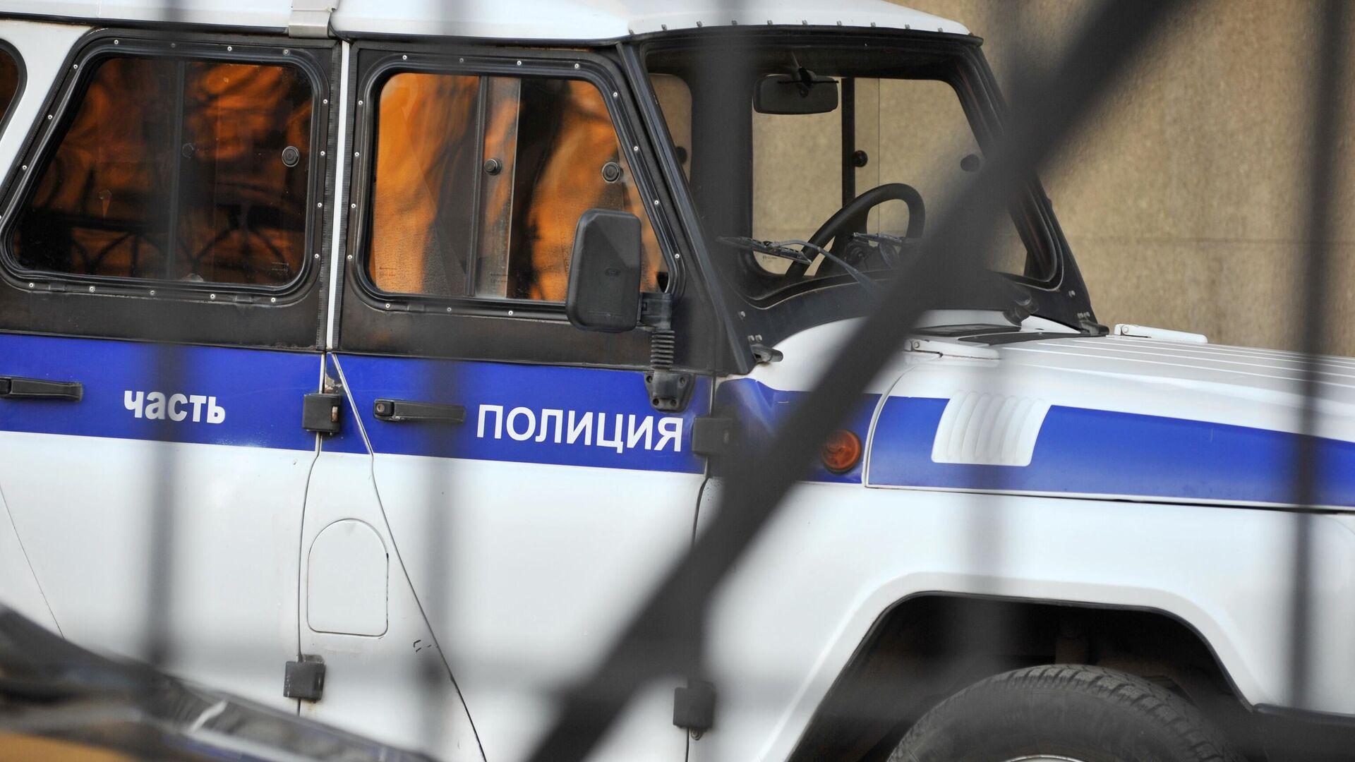 Полицейский автомобиль - РИА Новости, 1920, 26.10.2020