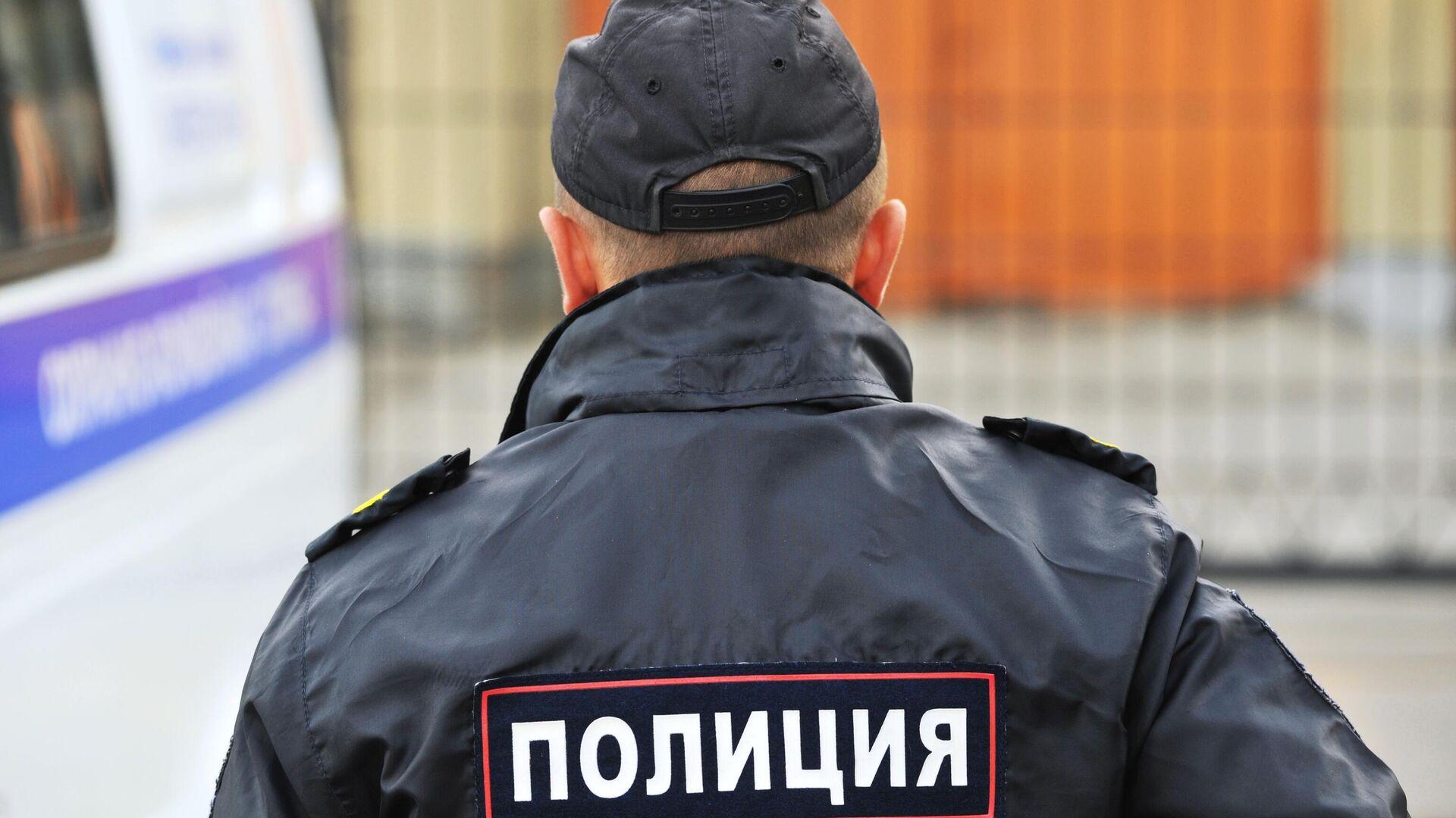 Сотрудник полиции  - РИА Новости, 1920, 29.07.2020
