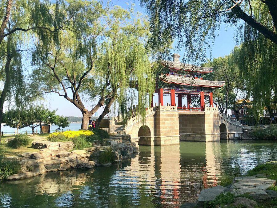 На берегу озера Куньминху, Летний дворец