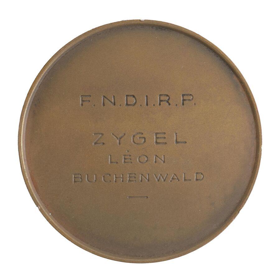 Медаль, созданная на основе рисунка Пьера Прово