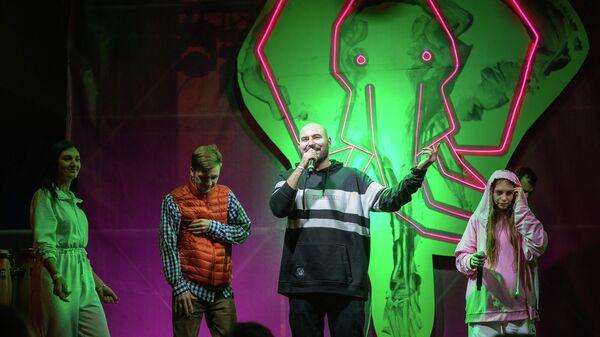 Выступление рэпера RE-pac на фестивале Алушта. Green