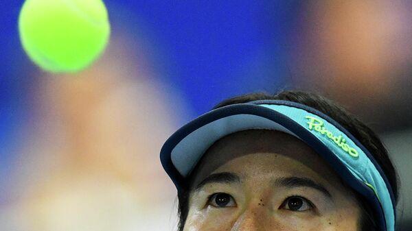 Сюко Аояма (Япония) в финале теннисного турнира ВТБ Кубок Кремля-2019