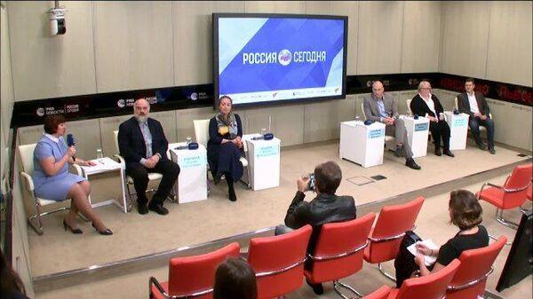 Пресс-конференция, посвященная V Всероссийскому фестивалю семейных любительских театров Сказка приходит в твой дом