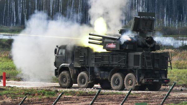 Зенитный ракетно-пушечный комплекс Панцирь-С1