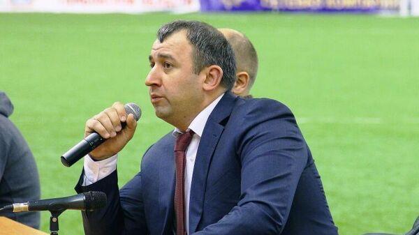Президент ФК Тамбов Арсен Габуев