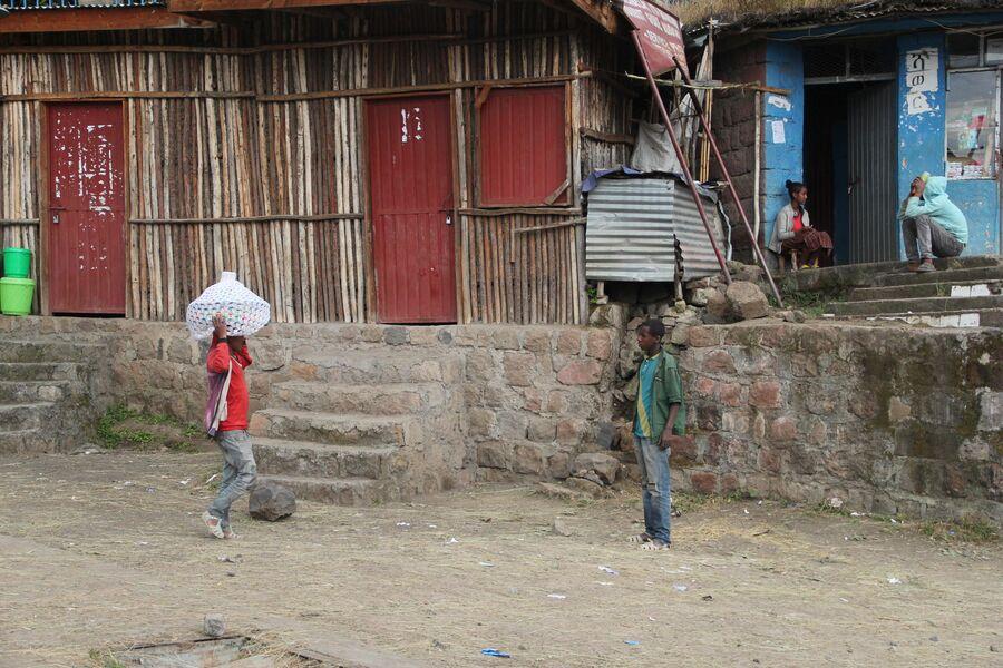 Жители Лалибэлы. Эфиопия