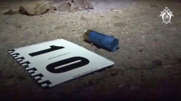 Следственные действия на месте перестрелки в Ростовской области