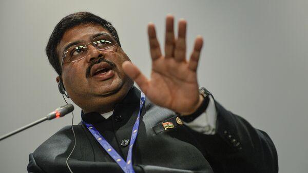Государственный министр нефти и природного газа Индии Дхармендра Прадхан