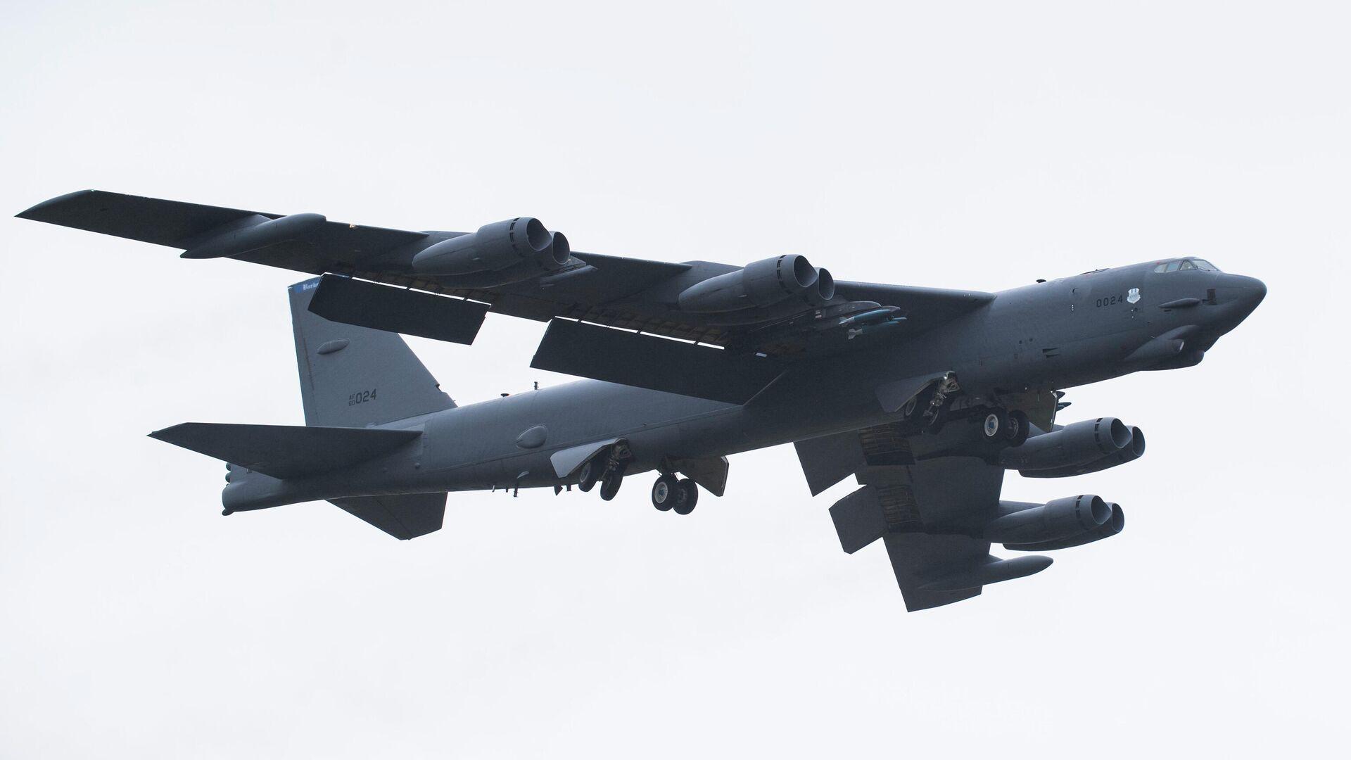 Стратегический бомбардировщик B-52H Stratofortress ВВС США - РИА Новости, 1920, 24.09.2020