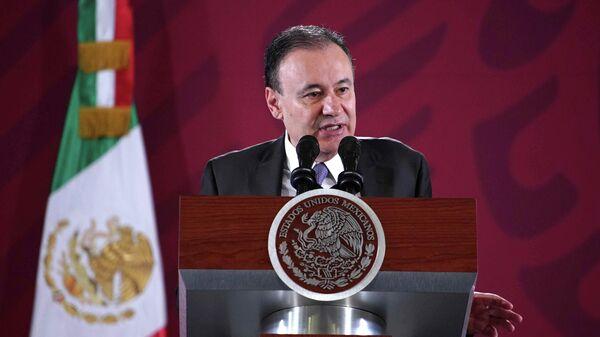 Министр общественной безопасности Мексики Альфонсо Дурасо