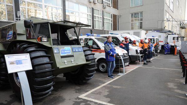 Учения комплекса городского хозяйства Москвы