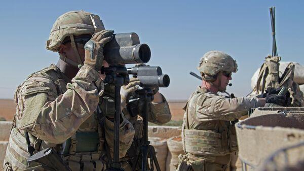 Американские военнослужащие в Сирии