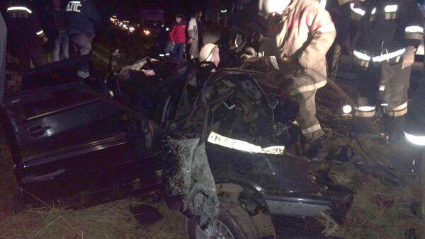 В Кировской области четыре человека погибли в ДТП с микроавтобусом