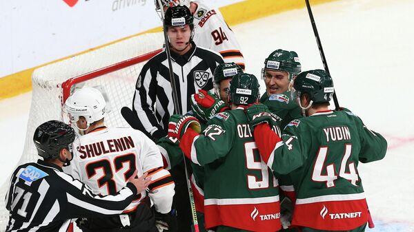 Ак Барс - Амур в матче регулярного чемпионата КХЛ