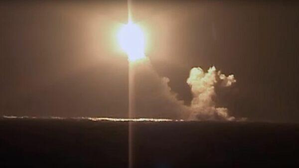 Видео пуска ракеты Булава атомной подлодкой Князь Владимир