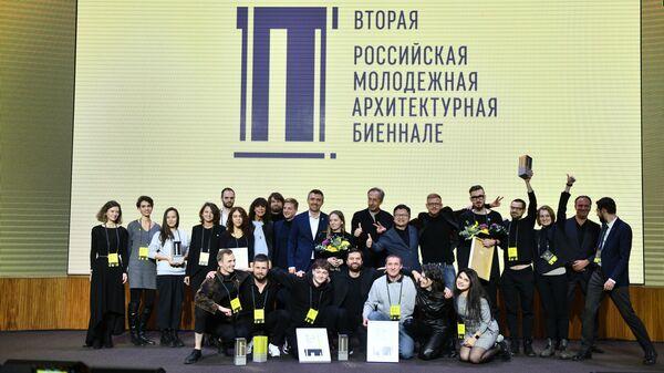 Все финалисты и члены жюри второй Российской молодежной архитектурной биеннале