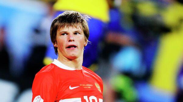 Футболист сборной России Андрей Аршавин на ЕВРО-2008