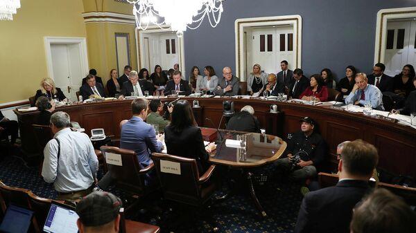 Заседание Палаты представителей США