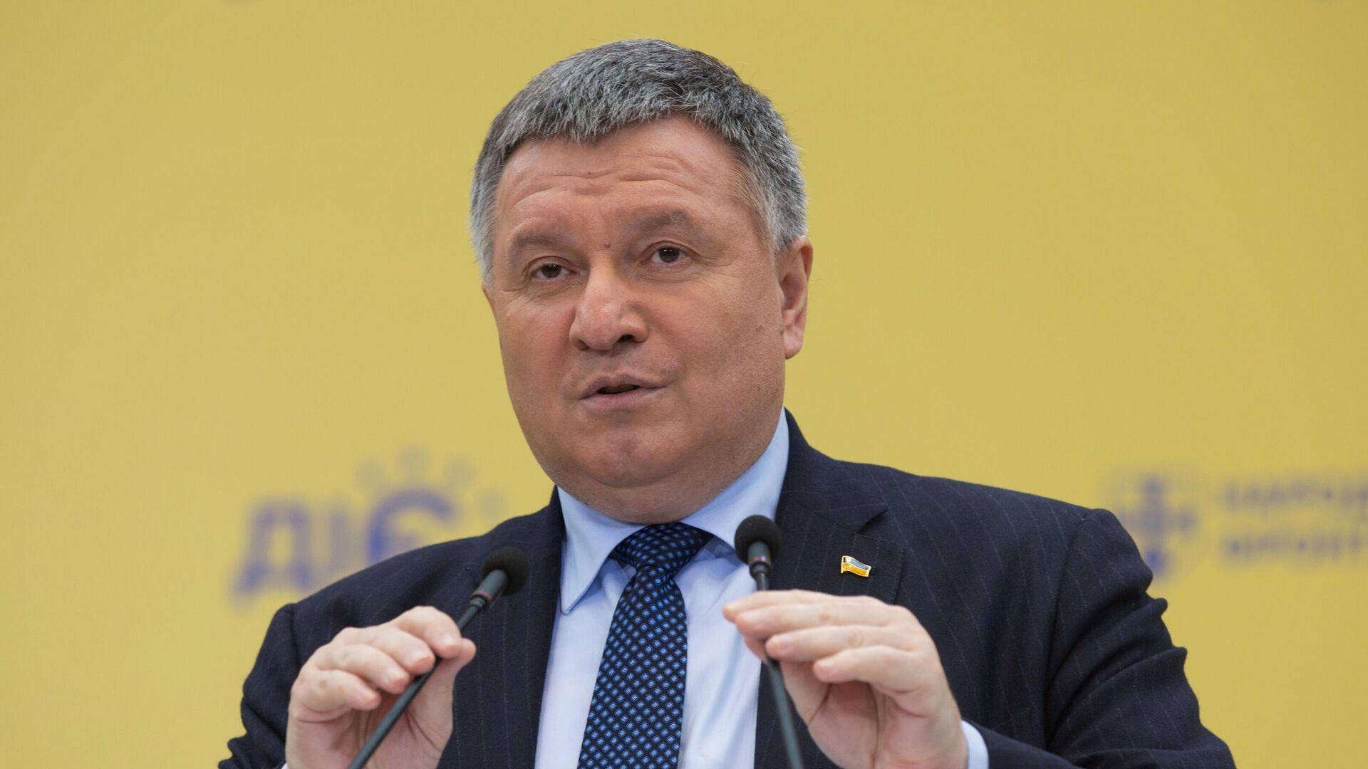 Министр внутренних дел Украины Арсен Аваков - РИА Новости, 1920, 06.01.2021