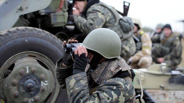 Украинский силовики