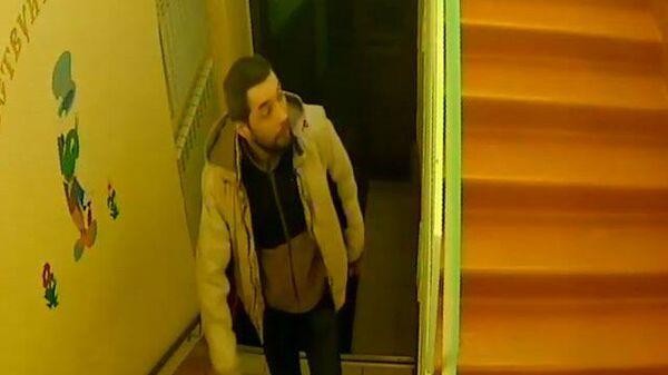 Съемка с камер видеонаблюдения на месте убийства в Нарьян-Маре