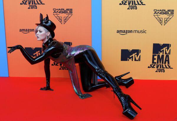 Украинская певица Maruv на церемонии награждения MTV Europe Music Awards