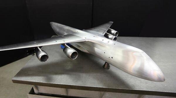 Аэродинамическая модель самолета Слон в конфигурации без оперения