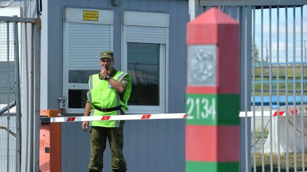 КПП на российско-казахстанской границе